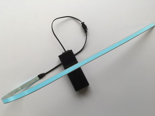 Striscia luminosa illuminazione sottoscocca blu