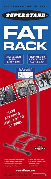 Stand di esposizione SuperStand per Fat Bikes