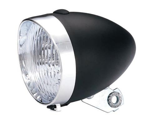 Fanale LED a batteria Classic Holland nero