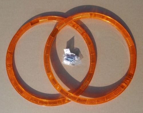 Catarifrangenti ad anello per raggi, arancioni
