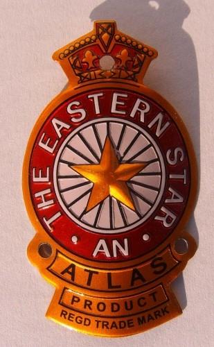 Targhetta Eastern Star per attacco manubrio