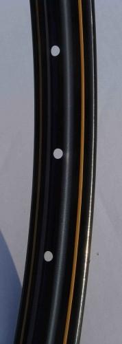 Cerchione Westwood, 28 x 1 1/2, con rigatura dorata