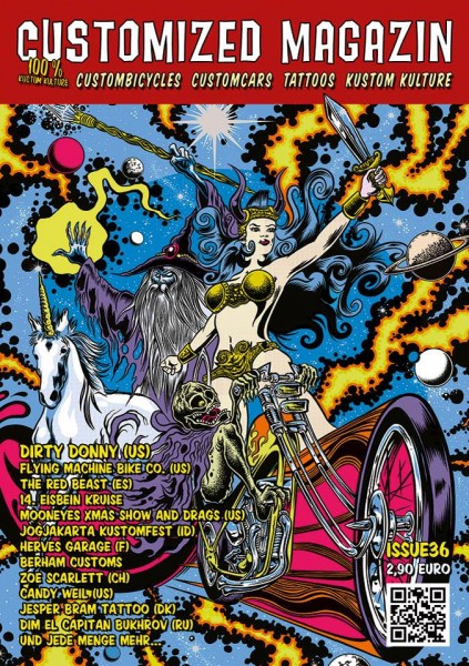 Edizione 36 della rivista Customized Magazin