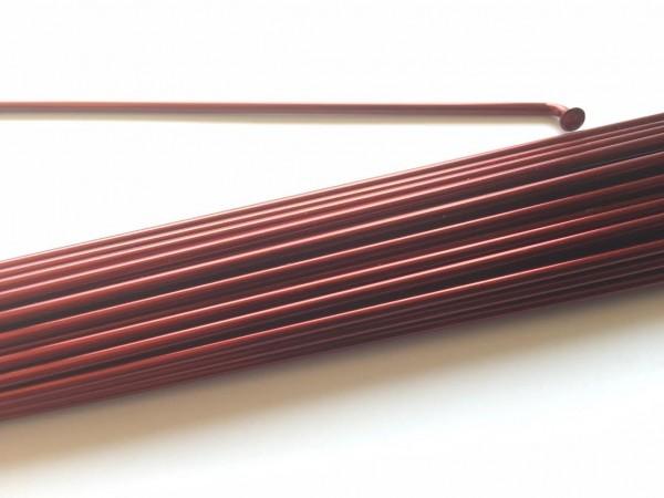 Raggio 2.0 x 222 rosso borgogna metallico