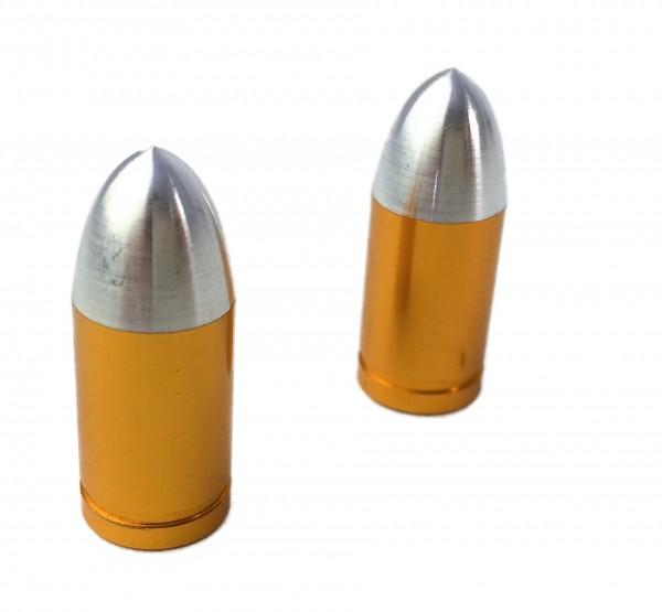 Tappi a proiettile per valvola, color ottone