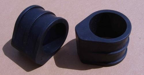 Protezione per verniciatura e telaio di forcelle a doppia piastra