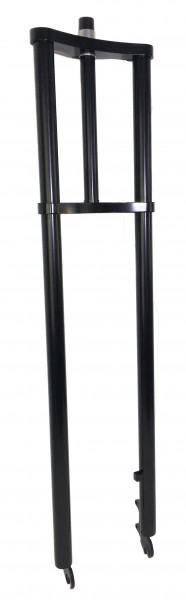 Forcella a doppia piastra extra-larga 900 mm nera