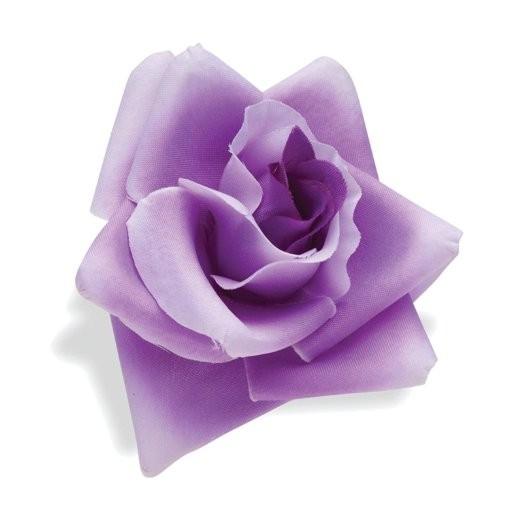 Fiore per manubrio, rosa lilla di Electra