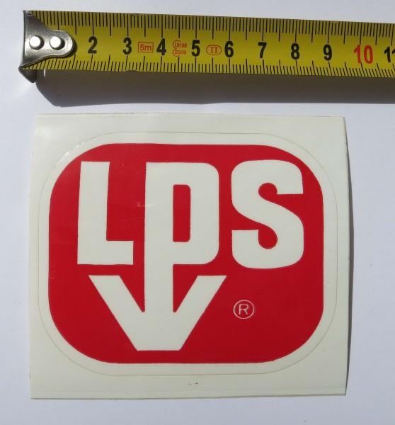 Adesivo originale LPS dai primi anni Settanta