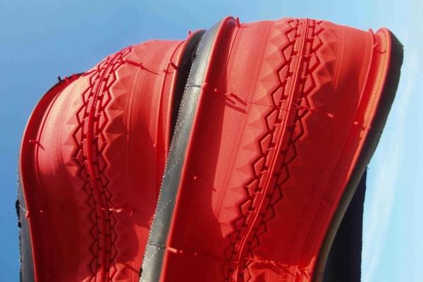Clincher 28 x 1 1/2 rosso mattone