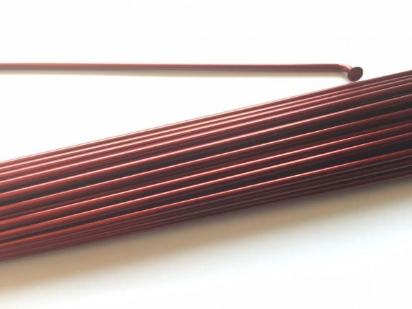 Raggio 2.0 x 190 rosso borgogna metallico