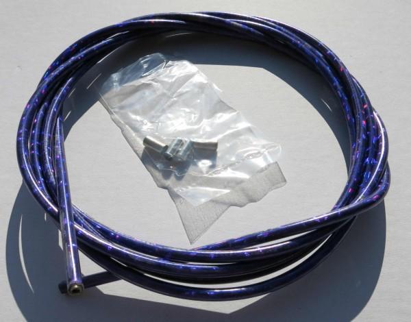 Cavo esterno cavo Bowden brillantinato viola metallico