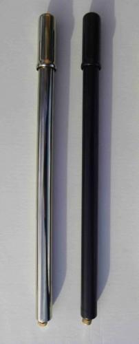 Pompa di gonfiaggio, nero, metallo, produzione tedesca